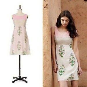 Anthro - Moulinette Soeurs Floral Sleeveless Dress
